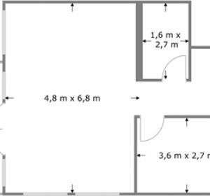 floor dimension